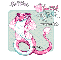 [CLOSED - Winner Announced] Free Raffle Adopt by visualkid-adopts