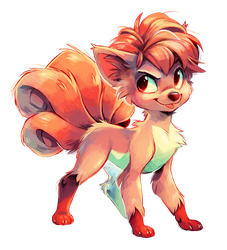 Vulpix by Jeniak