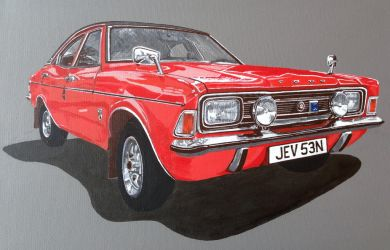 Ford Cortina Mk3 by jsmartdesigns