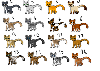 Cat Adopts by Moonwing2