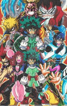 My Hero Academia: Training to Defeat Evil! + Video by d13mon-studios