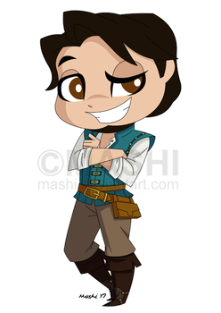 Chibi Flynn Commission by mashi