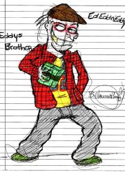 Eddys Brother (1st attempt) by vaness96