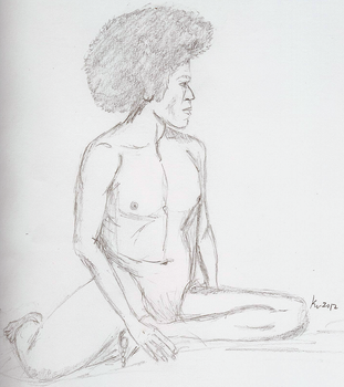 Nude 5 by melydia