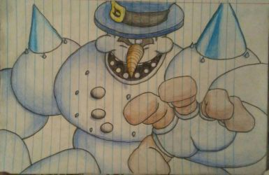 Clayfighter portrait Bad Mr Frosty by 860288840