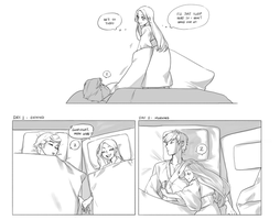 SF: She's a Cuddle Monster by pilotbites
