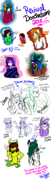 DoodleDump: The Revival 2018 by Panderp123