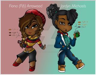 CB.:Fifi and Jordyn:. by bleuberry109