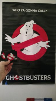 Ghostbusters Dot Net Stickers by OtakuDude83