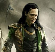 The Dark World Loki by ScoffsArt