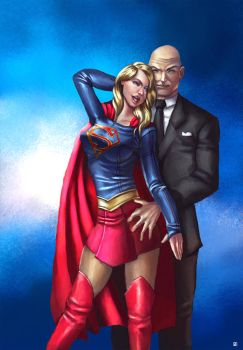 Bad Supergirl dates Luthor by cric