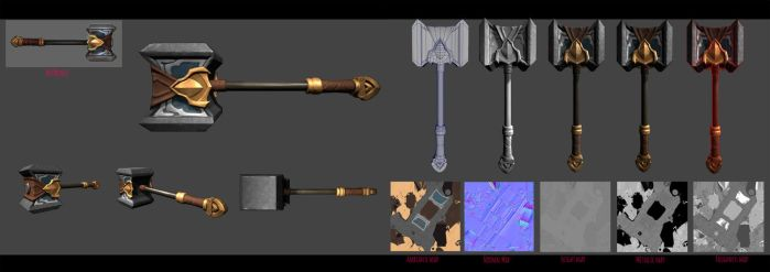 3D Hammer Poppy by Pandhes