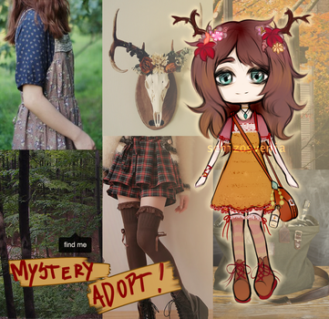 [CLOSED] Mystery adopt: Forest Witch by schizosvenia
