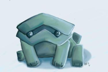 Rock Puppy by seagnomes