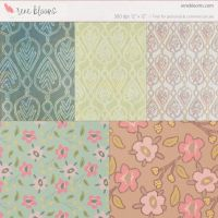 Digital Paper Patterns by SunnyFunLane