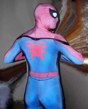 MCU Civil War Homecoming Spider-man costume by rubbermask