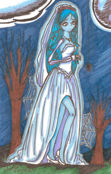 Corpse Bride by SailorSilverFalcon03