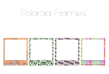 Paraloid Frames - DOWNLOAD by fattyBear