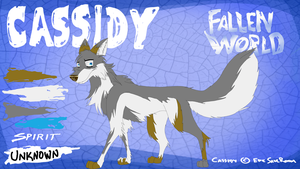 Character Sheet - Cassidy (Fallen World) by EpicSaveRoom