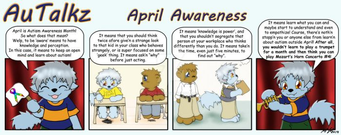 AuTalkz - April Awareness by mdchan