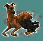 Timmy and Lili by swift-whippet
