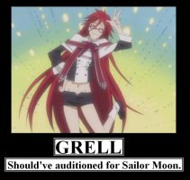 Grell Should've Auditioned Elsewhere by MercyAntebellum