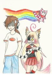 Ayano and Adam request by Viv-chibi-love