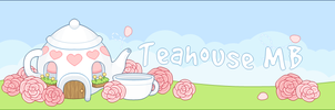 Vexel - Rose Tea'House' Banner by firstfear