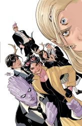 Generation X #1 Cover by TerryDodson