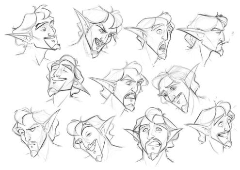 Expression Sheet Eliakim by MadAlleyCat