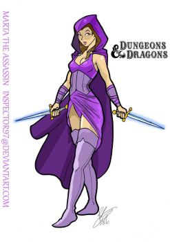 Dungeons and Dragons Assassin by Inspector97