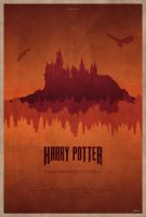 Harry Potter and the Philosopher's Stone - Poster by edwardjmoran