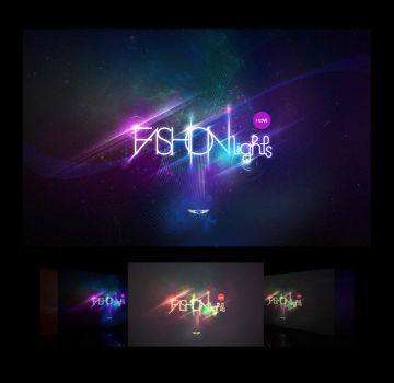 Fashion Lights LOGO Wallpaper by rodrigozenteno