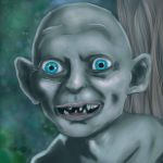 Gollum by lonelion4ever
