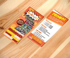 Single Flyer Mock Up (Front and Back) by ambdesignsph