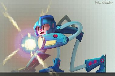Megaman! by RoboChandler