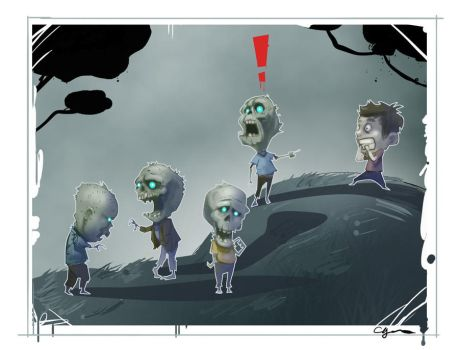 zombies by cgeezus