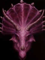 Triceratops by crazycolleeny
