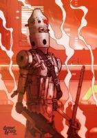 Star Wars Illustrated ESB: IG-88 by grantgoboom