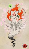 Okami Contest Entry by haine905