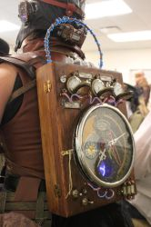 The time traveler visits FL's 1st Steampunk Con! by AirshipPirateDaylina