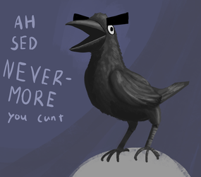 quoth the rude raven by shook12