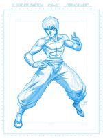 15 4 15: ' Bruce Lee ' by FooRay