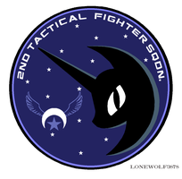 NLRAF Nightmare Squadron Wing Patch by lonewolf3878