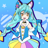 Cure Cosmo  - 5th PreCure of Star Twinkle PreCure by HugyuuMacherie