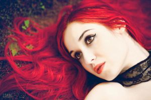 Away In The Sea Of Red..III by idaniphotography