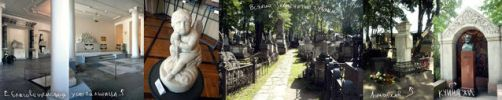 Graveyards and tombs by J-dono