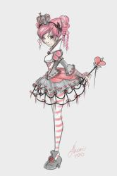 Lolita Teen Queen of Hearts by NoFlutter