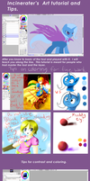 Tutorial Sai paint tool coloring and tips by Incinerater