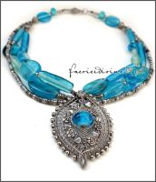 Seychelles necklace by Faeriedivine